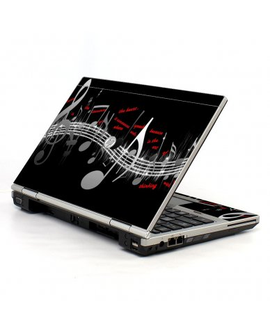 Music Notes 2570P Laptop Skin