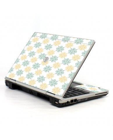 Yellow Green Flowers 2570P Laptop Skin