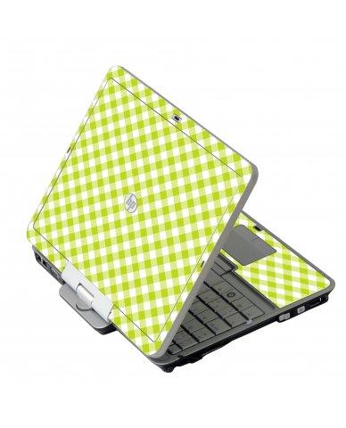 Green Checkered 2740P Laptop Skin