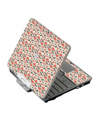 Pink Black Roses 2740P Laptop Skin