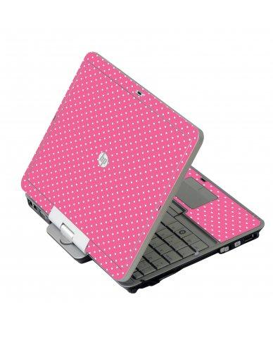 Pink Polka Dot 2740P Laptop Skin