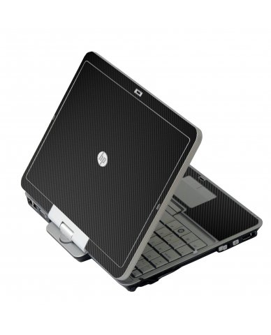 Black Carbon Fiber HP 2760P Laptop Skin