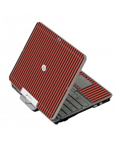 Black Red Versailles HP 2760P Laptop Skin