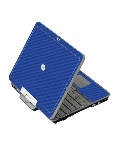 Blue Carbon Fiber HP 2760P Laptop Skin