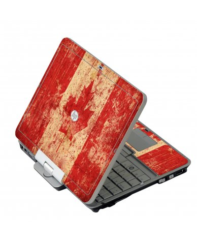 Canada Flag HP 2760P Laptop Skin