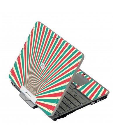 Circus Tent HP 2760P Laptop Skin