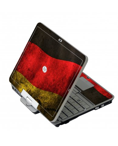German Flag HP 2760P Laptop Skin