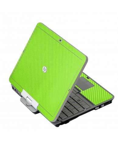 Green Carbon Fiber HP 2760P Laptop Skin
