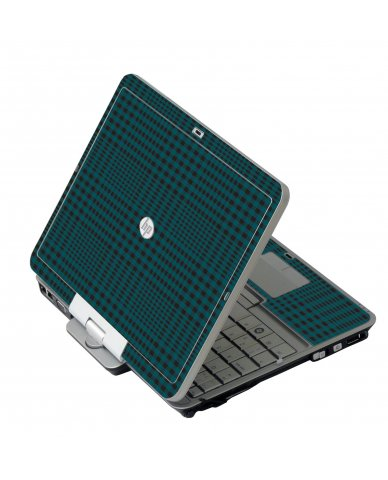 Green Flannel HP 2760P Laptop Skin