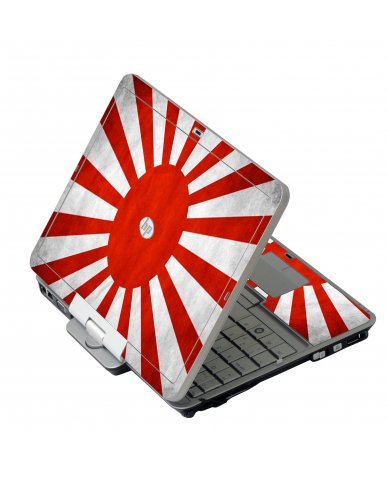 Japanese Flag HP 2760P Laptop Skin