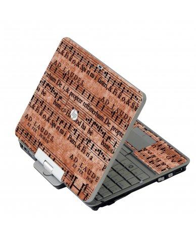 Latin Sheet Music HP 2760P Laptop Skin
