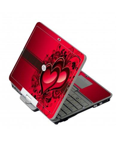 Love Heart HP 2760P Laptop Skin