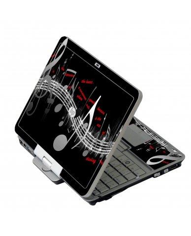 Music Notes HP 2760P Laptop Skin