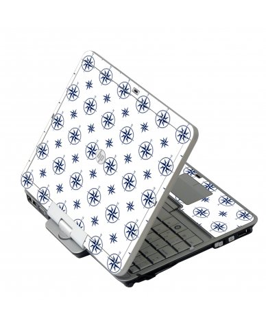 Nautical HP 2760P Laptop Skin