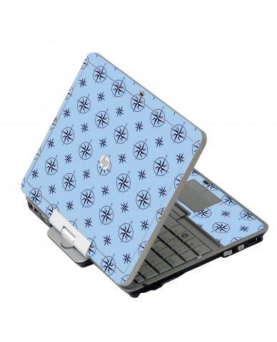 Nautical Blue HP 2760P Laptop Skin