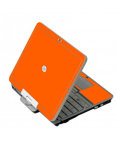 Orange HP 2760P Laptop Skin