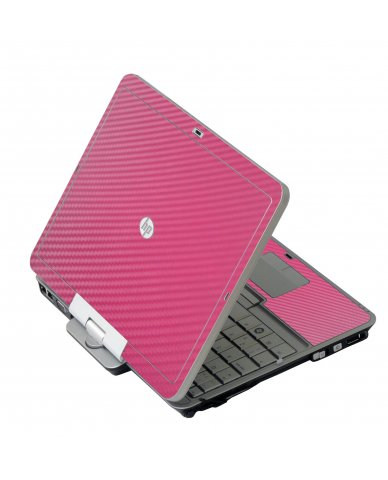 Pink Carbon Fiber HP 2760P Laptop Skin