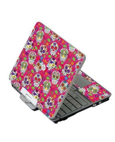 Pink Sugar Skulls HP 2760P Laptop Skin