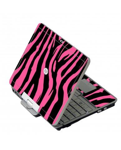 Pink Zebra HP 2760P Laptop Skin