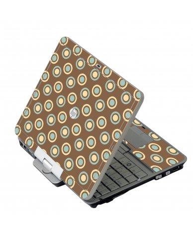 Retro Polka Dot HP 2760P Laptop Skin