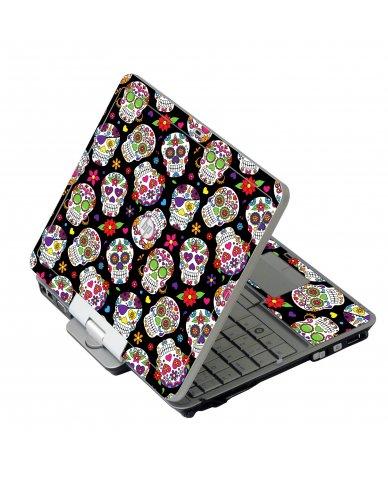 Sugar Skulls HP 2760P Laptop Skin