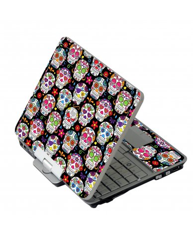 Sugar Skulls Seven HP 2760P Laptop Skin