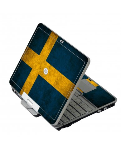Swedish Flag HP 2760P Laptop Skin