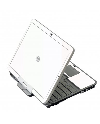 White HP 2760P Laptop Skin
