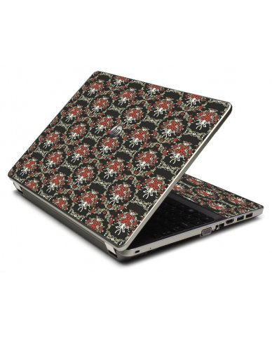 Flower Black Versailles 4535S Laptop Skin