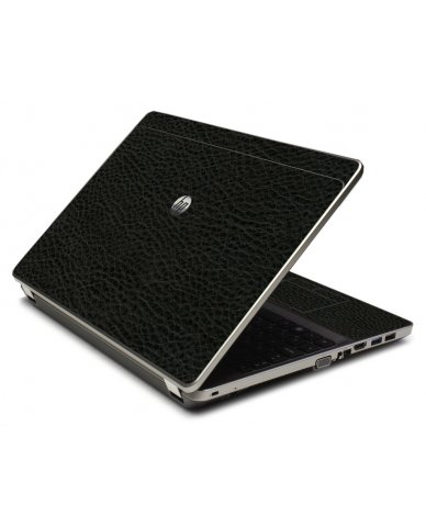 Black Leather 4535S Laptop Skin