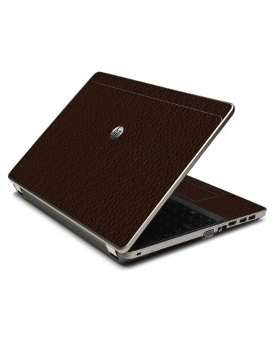 Brown Leather 4535S Laptop Skin