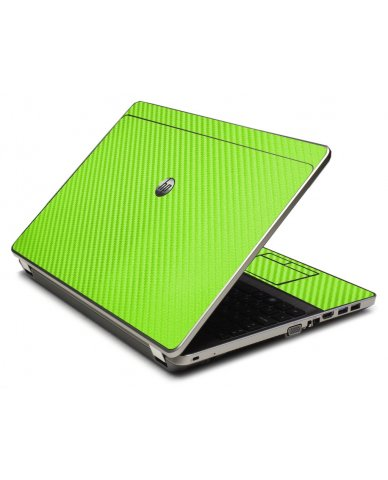 Green Carbon Fiber 4535S Laptop Skin