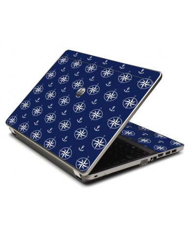Nautical Anchors 4535S Laptop Skin