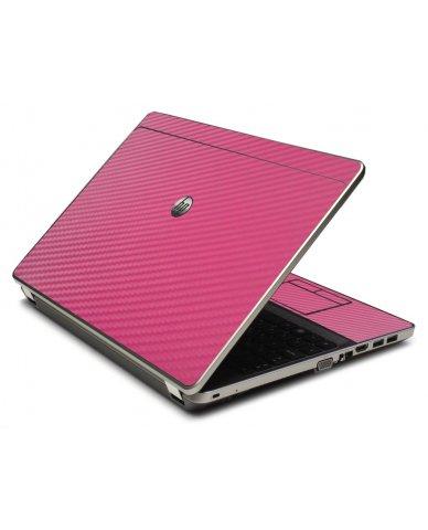 Pink Carbon Fiber 4535S Laptop Skin