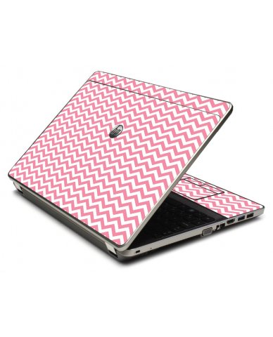 Pink Chevron Waves 4535S Laptop Skin