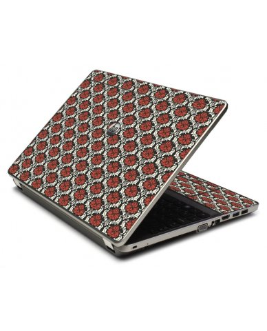 Red Black 5 4535S Laptop Skin
