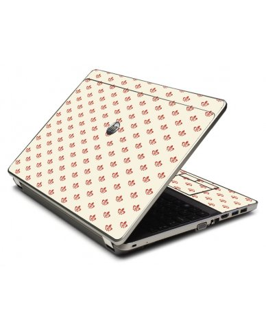 White And Pink Versailles 4535S Laptop Skin