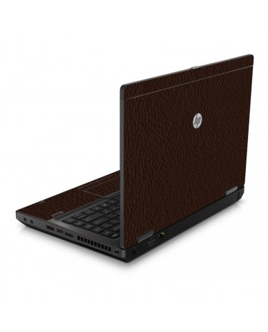 Brown Leather 6460B Laptop Skin