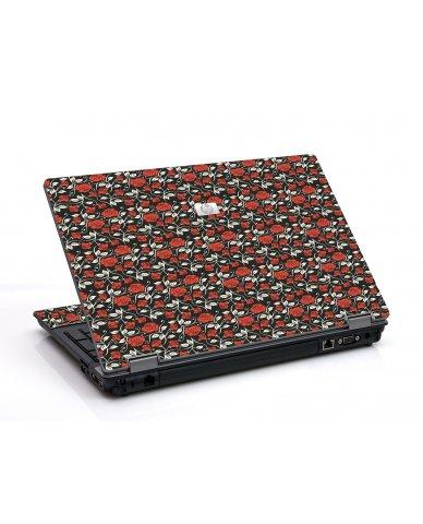 Black Red Roses 6530B Laptop Skin