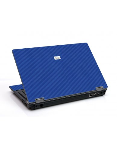 Blue Carbon Fiber 6530B Laptop Skin