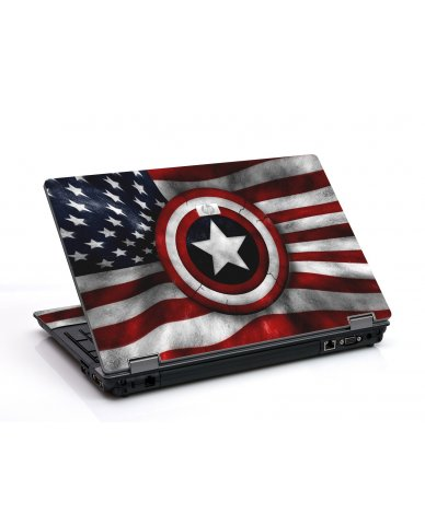 Capt America Flag 6530B Laptop Skin