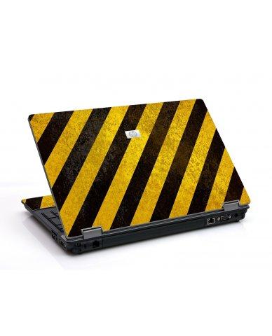 Caution Stripes 6530B Laptop Skin