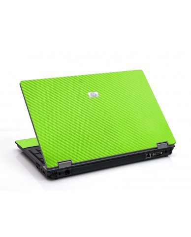 Green Carbon Fiber 6530B Laptop Skin