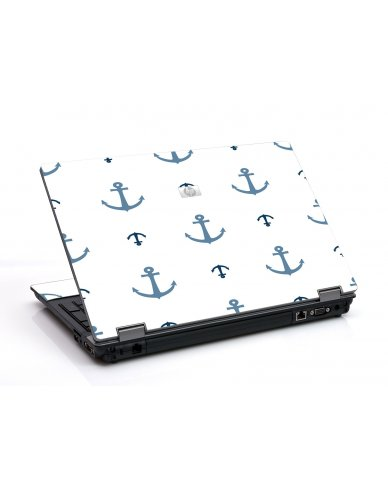 Multi Blue Anchors 6530B Laptop Skin