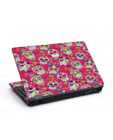 Pink Sugar Skulls 6530B Laptop Skin