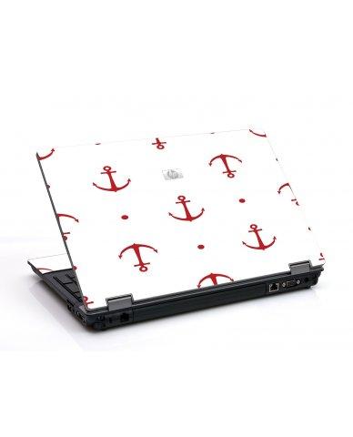 Red Anchors 6530B Laptop Skin