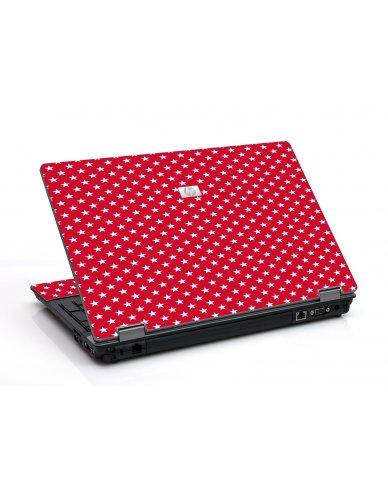 Red White Stars 6530B Laptop Skin