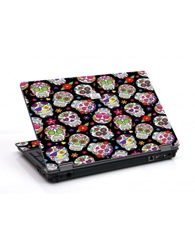 Sugar Skulls 6530B Laptop Skin