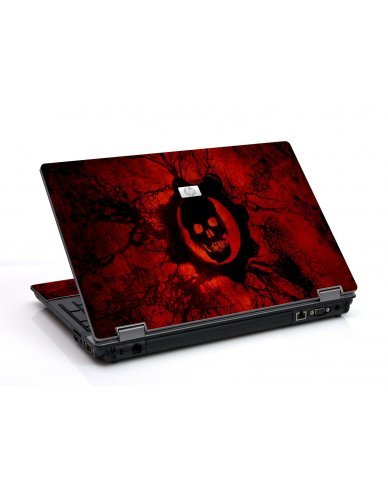 Dark Skull 6550B Laptop Skin