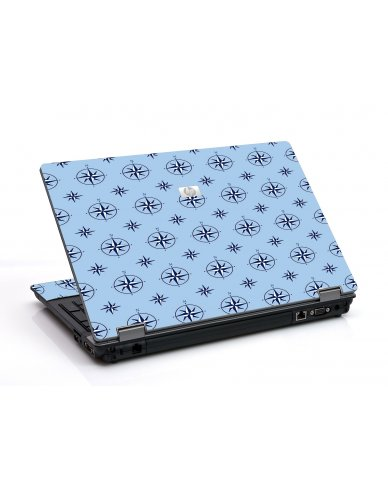 Nautical Blue 6550B Laptop Skin